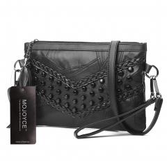 Women Braid   Messenger Bags bolsos   Women Leather Tassel Handbags Ladies Shoulder Crossbody Bag black1 1