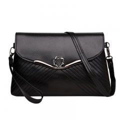 Fashion Women Handbag Shoulder Bags PU Leather Ladies Messenger Hobo Bag black 1