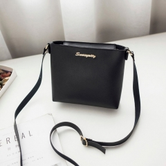 Fashion For Women Solid   Shoulder Bag Crossbody Bag Messenger Phone Coin Bag Small  Style black 1