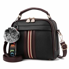 Crossbody Bags For Women  Handbag Shoulder Bag 6colors Female Leather Flap  Women Messenger Bags black 1