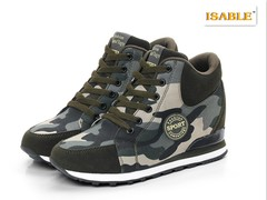 2019Enhanced Camouflage Shoes, High-Up Canvas Sports Shoes, Men's and Women's Shoes in Running Shoes camouflage 34