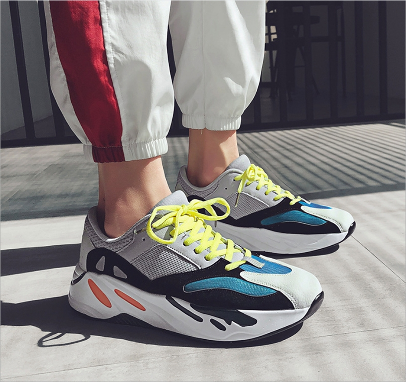 9c0237371d1 ISABLE Brand-yeezy 700 Fashion Trend Air-permeable Comfortable ...