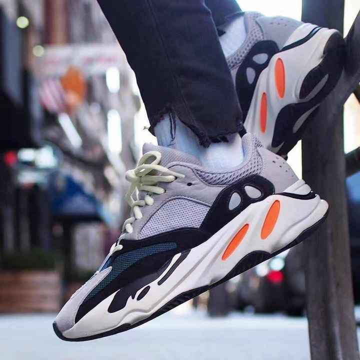 timeless design cd7ff 3525b ISABLE Brand-yeezy 700 Fashion Trend Air-permeable Comfortable Sports Shoes  for Men and Women gray 39