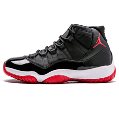 ISABLE Brand - Nike Jordan Rookie AJ 11 New Men's Basketball Shoes Comfortable Sports Shoes Black and red 40
