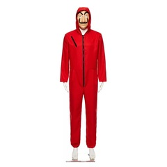 ISABLE Brand-Banknote House Dali Red Clothes Adult s