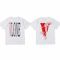 ISABLE Brand-Vlone FRIENDS Men Women T shirts Arrive Kanye West Sashion Hip Hop VLONE white1 xs cotton