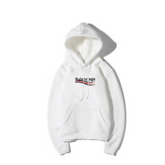 ISABLE Balenciaga New style of sweetheart, couple, hoodie, male fashion student sport Hoodie white s