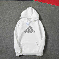 ISABLE Adidas New style of sweetheart, couple, hoodie, male fashion student sport Hoodie white s(40-43)kg
