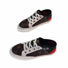 ISBALE Brand-LOUIS VUITTON(LV)Women's Shoes, Lower Uppers, Lace Lovers'Shoes, Student's Shoes black 36