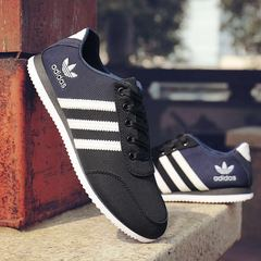 ISABLE-ADIDAS Canvas shoes, casual shoes, students'tidal shoes, breathable men's shoes, sneakers black 39