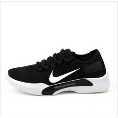 ISABLE-NIKE Classic small white shoes, breathable jogging shoes, soft soles, net shoes, men's shoes black 39