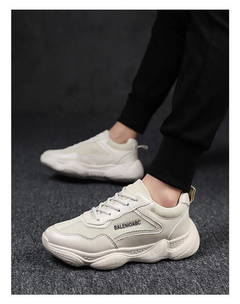 ISABLE-Coconut Shoes 500 Spring Chaozhou Leisure Student Ins Super Fire Mesh Sports Shoes white 39