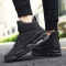 2018 new sports are hot fashionable handsome sportswear casual sports men's shoes. black 43
