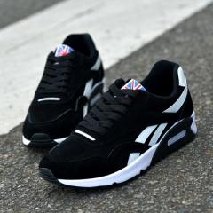 2018 new sports fashion trends men's board shoes men's canvas shoes casual shoes. black 41