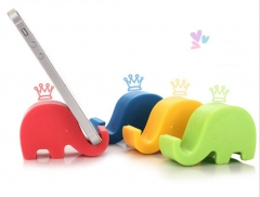 The elephant Phone Stand Universal,Mini,Portable,Multifunctional black 6.5*4.2*2.8