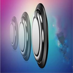 Fashion Phone Stand Holder,360 Degree Rotating Finger Ring random color 4*3.5*0.7 black 10*2*2