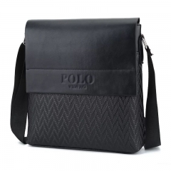 Men's Fashion Shoulder Bag Messenger Bag Briefcase black 26*7*28
