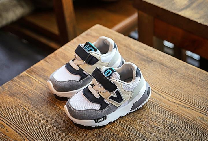 Kids Shoes for Baby Boys Girls Children's Casual Sneakers Air Mesh Breathable Soft Running gray 21
