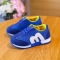 Top Selling Children Shoes Boys And Girls Fashion Sports Casual Shoes Kids Breathable Sneakers blue 21