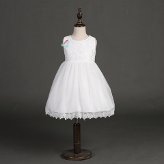 1 Years Birthday Toddler Girl Baptism Dress Christams Costumes Newborn Baby Princess white 80cm