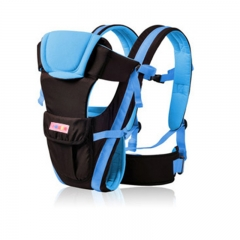 0-30 Months Breathable Front Facing Baby Carrier 4 in 1 Infant Comfortable Sling Backpack Pouch blue 31cm/35cm/15cm