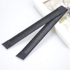 Girls Fashion DIY Magic Hair Hair Accessories for Women Dish Made HairBands Fine Headbands black Open 42cm