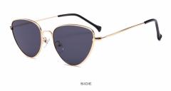Cat Eye Women Lens Sun glasses Fashion Light Weight Sunglass for women Vintage Metal Eyewear colour 001 139mm
