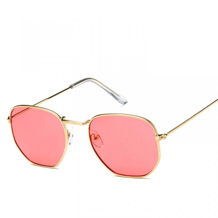 91f9d8d899 Polygonal Sunglasses Women Glasses Luxury Retro Metal Sun Glasses UV400  colour 003 133mm