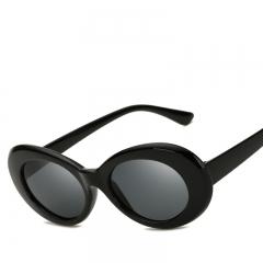 2018 Round Sunglasses For Women Mirror Glasses Retro Female Male Sun Glasses colour 001 144mm