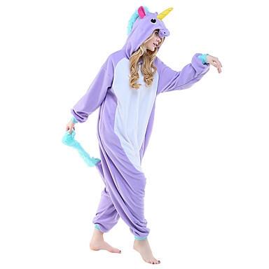 24c2f7c3a3 Unicorn Panda Bear Koala Pikachu Adult Unisex Cosplay Costume Pajamas  Sleepwear For Men Women color8 xl