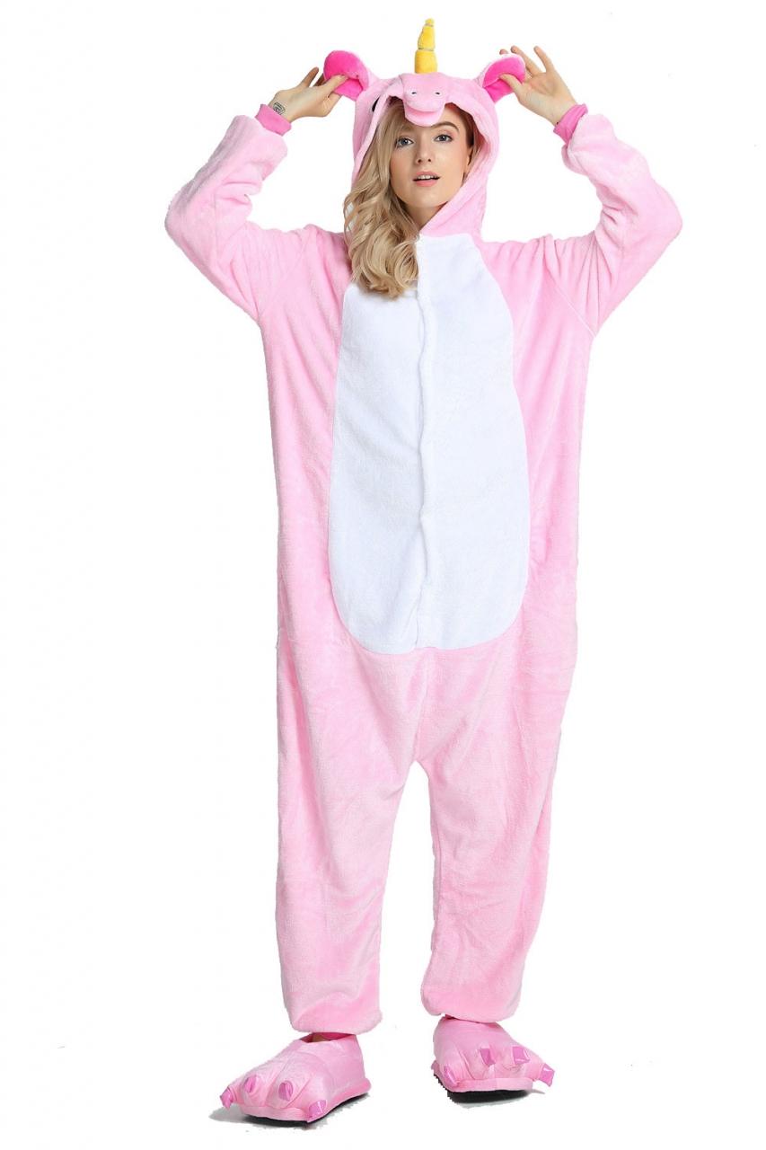 7559d21805 Unicorn Panda Bear Koala Pikachu Adult Unisex Cosplay Costume ...