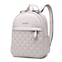 Fashion Backpack Women's Backpack School Student Back Pack Female Backpacks Rucksack Backpack Girls white 22cm×13cm×34cm