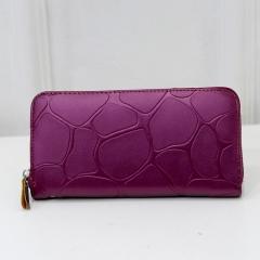 Wallet Feminine High Quality Purse Wallet Female Card Holder Women Clutches For Women Teenage Girl purple 21cm×11cm×3cm