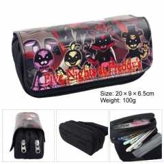 Five Nights at Freddy's FNAF SAO YURI Student Purse Wallet Zipper Pencil Case Pouch Purse colour01 20cm×9cm×6.5cm