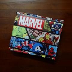 dollar Price Wallets men Women Super Hero Anime Purse Creative Gift Fashion Leather Bags colour01 11.5cm×9cm