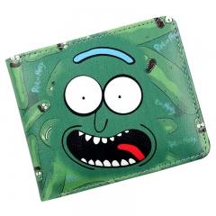 Anime Rick and Morty Rick Bi-Fold Wallet Credit Card Holder Purse colour01 11.5cm×9cm