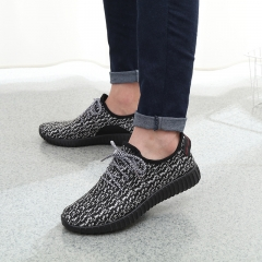 2018 New Men Summer Mesh Shoes Loafers Water shoes Walking lightweight Comfortable Breathable gray 43