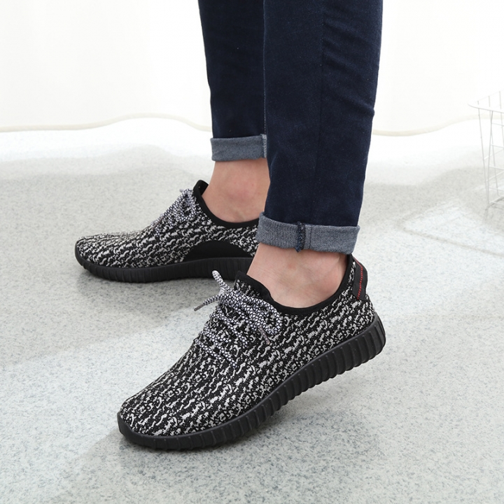 2018 New Men Summer Mesh Shoes Loafers Water shoes Walking lightweight Comfortable Breathable gray 39