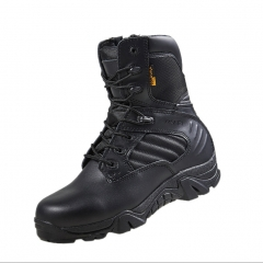 Men Military Boots Quality Special Force Tactical Desert Combat Ankle Boats Army Work Shoes Black 35