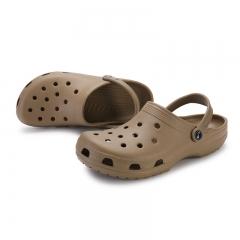 Men's Garden Clogs Slippers Casual Fashion Beach Sandals For Men, Mens Lightly Slipper Mule Clog brown 38