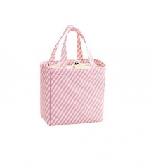 New Fresh Insulation Cold Bales Thermal Oxford Lunch Bag Waterproof Convenient Leisure Bag pink 20cm×20cm×13cm
