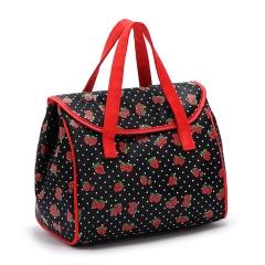 portable breast milk preservation back milk bag Picnic Cooler Bags Nylon Lunch Bag Thermal Bags black 23cm×16cm×20cm