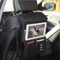 Car seat bag storage bag Portable Travel Picnic Lunch Food Thermal Insulation Handbag black 29cm×26cm×11cm