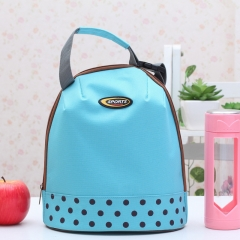 Yesello 1PCS Oxford Hand Carry Thickened Cooler Bag Picnic Protable Ice Bags Food Thermal Organizer blue 26cm×23cm