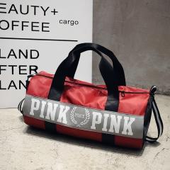 girl bag travel duffel bag women Travel Business Handbags shoulder bag large secret capacity bags red 48cm×16cm×24cm