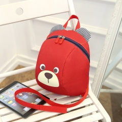 children school bags cute Anti-lost children's backpack school bag backpack for children Baby bags red 21cm×26cm×13cm