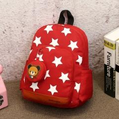 School bags Fashion Kids Bags Nylon Children Backpacks for Kindergarten School backpacks red 32cm×24cm×11cm