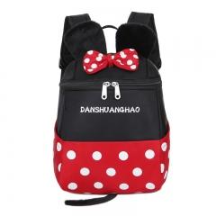 Waterproof Child School Bag Cartoon mickey backpacks/kids kindergarten backpack/kid school bags Minnie 20cm×26cm×13cm