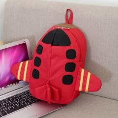 backpacks printing backpack bag Children's backpack school bags Cartoon plane Backpack for girls red 22cm×32cm×8cm