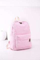 Girls Women Canvas School Bag Travel Backpack Satchel Shoulder Bag Rucksack LOT pink 30cm×40cm×15cm